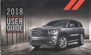 2018 Dodge Durango User Guide Owner U0026 39 S Manual Original