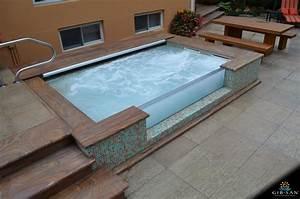 Custom Concrete Hot Tubs Gib-San Pools Toronto