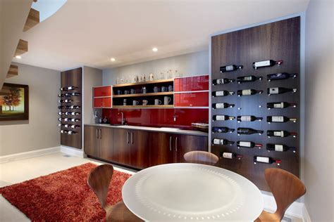Wine rack contemporary home bar contemporary with wine
