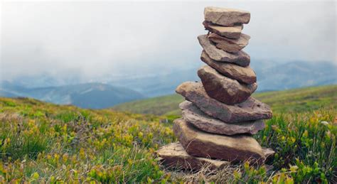 what is a rock cairn ditch your five year plan learn to follow the cairns