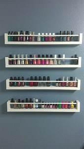 Étagère À Épices Ikea : 10 best ideas about nail polish holder on pinterest organize nail polish nail stuff and ~ Nature-et-papiers.com Idées de Décoration
