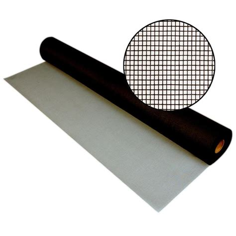 shop phifer pool patio 48 in x 100 ft charcoal