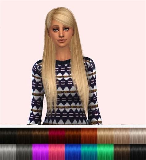 images  sims  hair  pinterest  sims