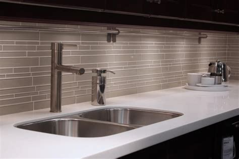 diy subway glass tile backsplash cabinet hardware room