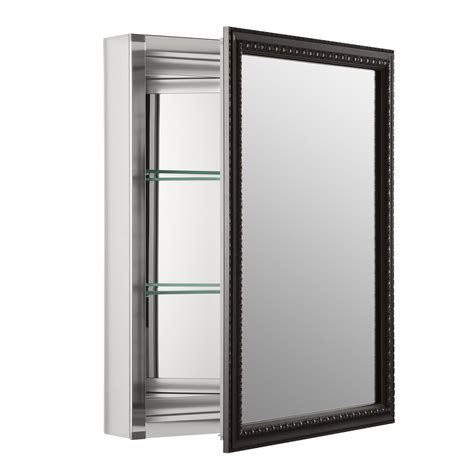 wall mounted medicine cabinet with mirror medicine cabinets wayfair 20 x 26 wall mount mirrored