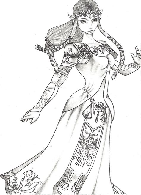 zelda coloring pages bestofcoloringcom