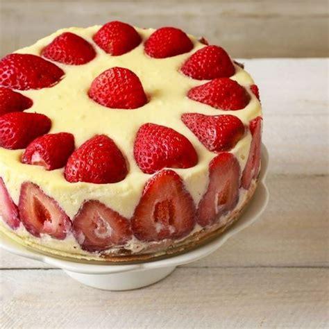 jeux de aux fraises cuisine gateaux recette gâteau d anniversaire aux fraises
