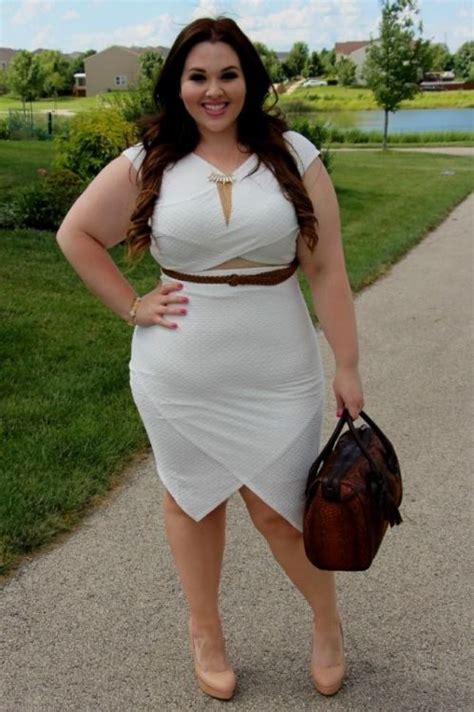 Plus Size White Club Dresses Looks B2b Fashion