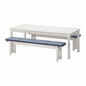 Gartenmöbel Sale Ikea : ikea ngs holz wei 2 b nke 1 tisch blaue aufleger gro e auswahl top angebote sitename ~ Yasmunasinghe.com Haus und Dekorationen