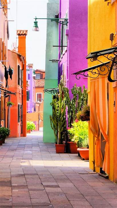 Italy Wallpapers Street Phone Colorful Italian 4k