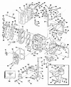 Evinrude 1986 30 - E30telcdm  Cylinder  U0026 Crankcase