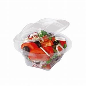 Bol A Salade : bol salade transparent couvercle d chirable 350 g mon ~ Teatrodelosmanantiales.com Idées de Décoration