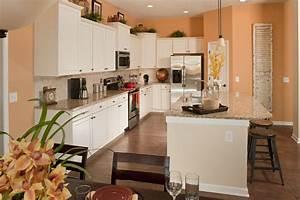 kitchen in the twin oaks model love the white cabinets With kitchen colors with white cabinets with disney frozen wall art