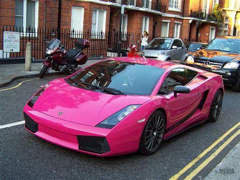 pretty  pink  fab  pink cars