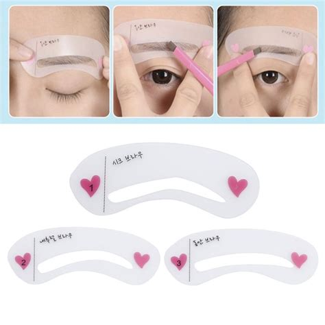 Printable eyebrow stencil template | eyebrow printable stencils to use free printable eyebrow stencils. 3pcs /set Grooming Eyebrow Stencil Kit Beauty Reusable ...