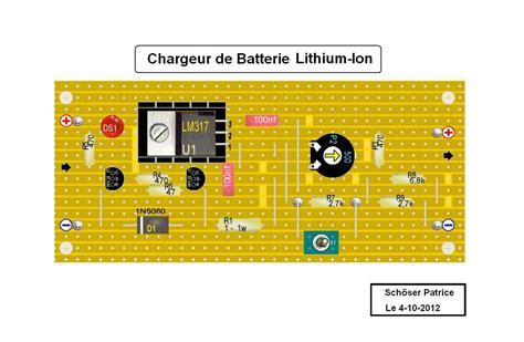 chargeur de batterie li ion
