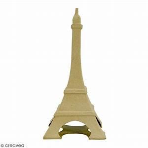 Tour Eiffel Deco : tour eiffel d corer 22 x 11 cm support d co voyage creavea ~ Teatrodelosmanantiales.com Idées de Décoration