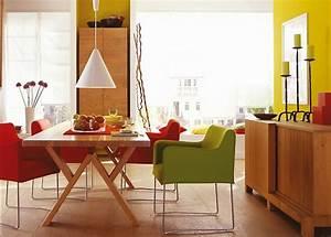 Feng Shui Küche Farbe : viel farbe im esszimmer sch ner wohnen ~ Markanthonyermac.com Haus und Dekorationen