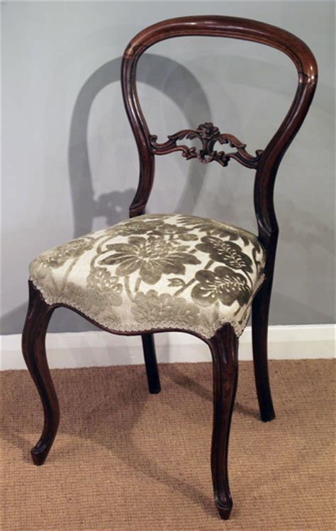 victorian rosewood dining chair antique chair antique