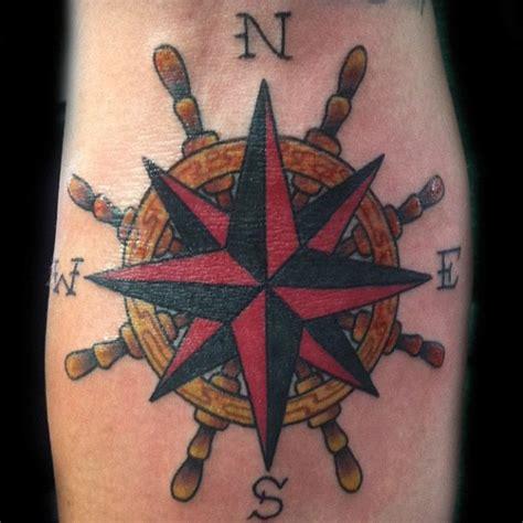 ship wheel tattoos designs ideas  meaning tattoos