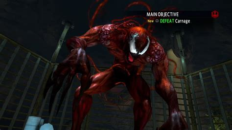 amazing spider man  game carnage boss fight youtube