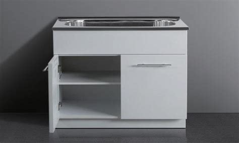 utility sink with cabinet ove stainless steel utility cabinet with acrylic sink