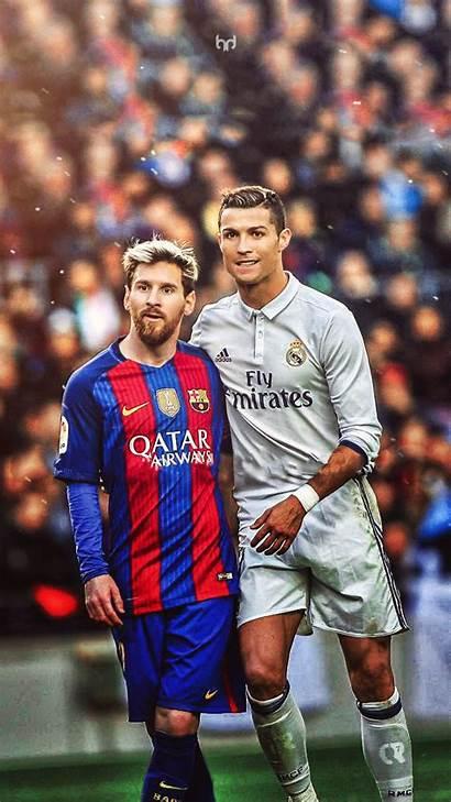 Messi Cool Ronaldo Wallpapers Cristiano Calcio Lockscreen