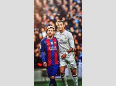 Messi & Cristiano Lockscreen Wallpaper messi