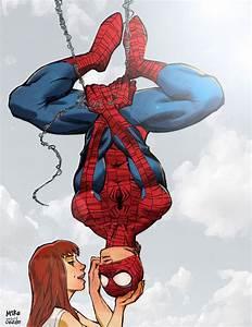 Spider-Man & Mary Jane - Mike Dimayuga | Comic Art ...