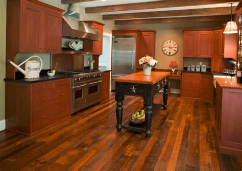 beautiful kitchens  antique wood flooring pictures