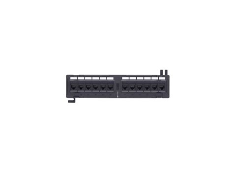 Patch Panel 12 by Networx 12 Cat6 Wall Mount Patch Panel 1u