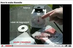 Faire Briller Aluminium Oxydé : la thermate ou thermite l 39 explosif qui monte 2200 ~ Melissatoandfro.com Idées de Décoration