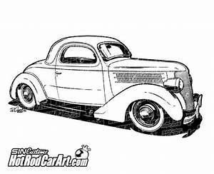 1936 clipart clipground for 1941 dodge hot rod