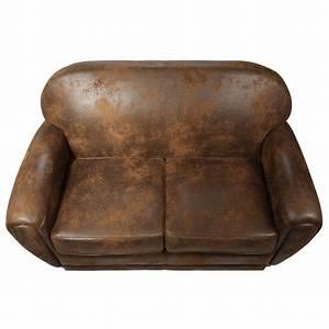 canape club choisissez le club effet vieilli rdv deco With tapis persan avec canapé 2 places cuir vieilli