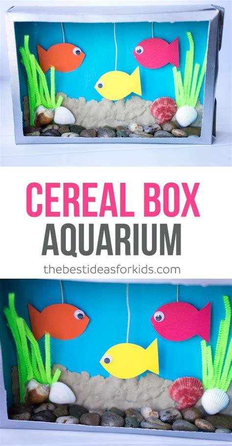 cereal box aquarium cereal aquariums and pipes 836 | 458ace24cc0be5210ab8e9de0950bac5