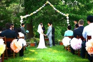 cheap wedding venues in nc sneak peek of and tim s backyard wedding pictures