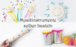 Filzstifte Für Kinder : musikinstrumente f r kinder selber basteln mamakreativ ~ Markanthonyermac.com Haus und Dekorationen