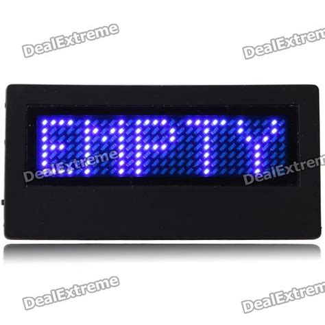mini programmable scrolling led name message advertising
