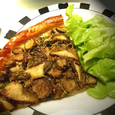 cepes cuisine tarte aux cèpes photo de cuisine mam 39 zell jeannette