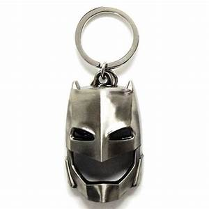 Batman V Superman Armored Batman Mask Pewter Key Chain ...