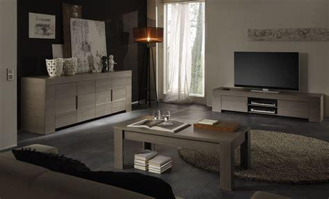audois cuisine meuble tv hifi contemporain chêne gris salon