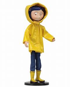 Coraline Bendy Doll Raincoat and Boots NECAOnline com