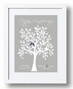 25th anniversary gift for parents 25th silver anniversary With 25th wedding anniversary gifts for parents