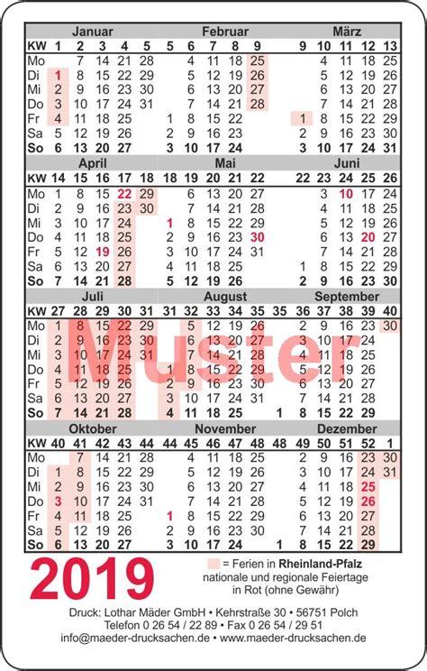 kalender im scheckkartenformat mit eigenem bild oder logo