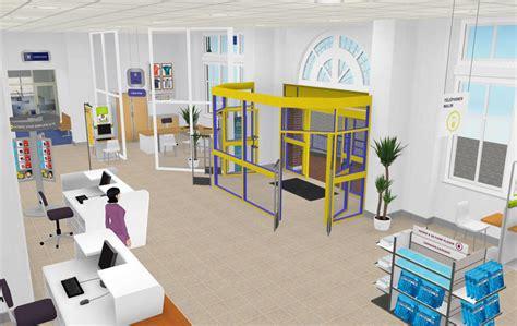 bureaux de poste idées 3com la poste un bureau de poste virtualisé