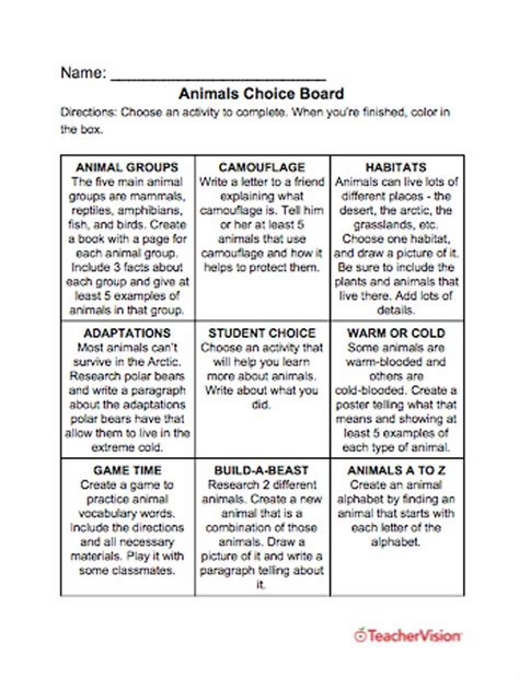 animals printables lessons  activities grades