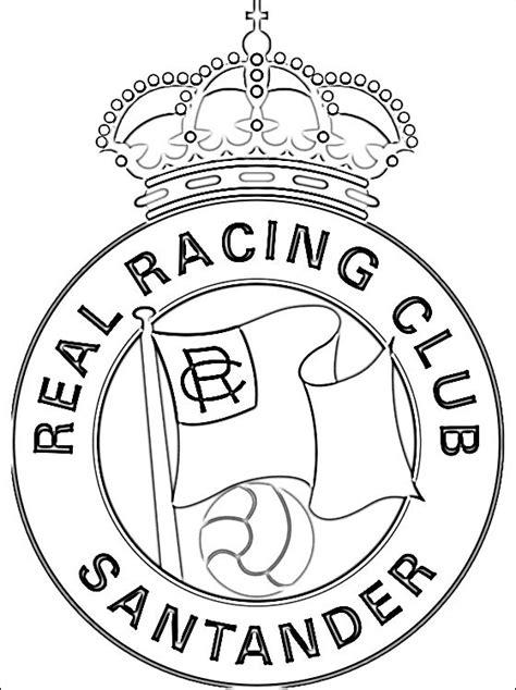 Kleurplaat Spaanse Vlag by Racing Santander Kleurplaat Gratis Kleurplaten