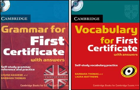 Grammar And Vocabulary For First Certificate (fce) [cambridge]