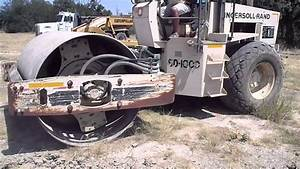 For Sale  Ingersoll Rand Sd100d - Single Drum Roller For Sale 214-468-3766