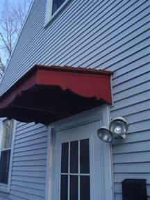 Wood Door Awning Plans
